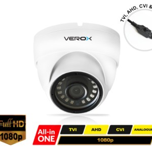 RV12UNI-W Verox All in one Eyeball White Dome Camera