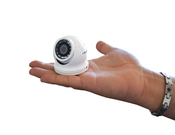 RV222UNI Verox All in one Vandal-proof Eyeball Mini CCTV Camera
