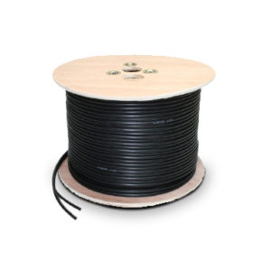 SL-SHOB 100M RG59 Black Combo CCTV Camera Shotgun Cable