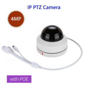 4MP IP Camera HD 1080P Onvif IR PTZ Dome Network Security