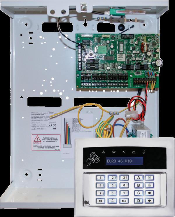Pyronix EURO 46 V10 connect vast range of communication