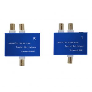GTHDCM102T - AHD/CVI/TVI 2 CH HD Coaxial Multiplexer