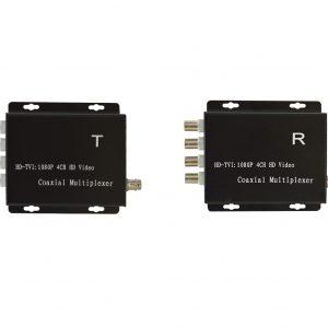 GTHDCM104T - CVI/AHD/TVI 4 CH HD Coaxial Multiplexer
