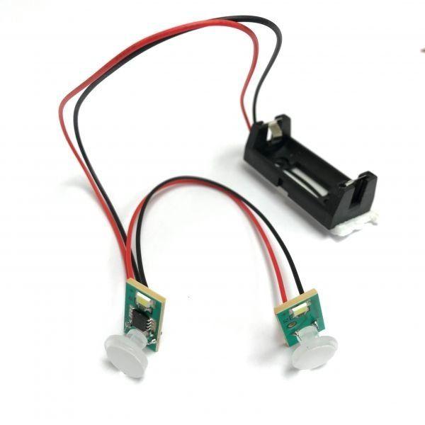 HAY-2LED Haydon Lithium Battery Powered Twin Flashing LED